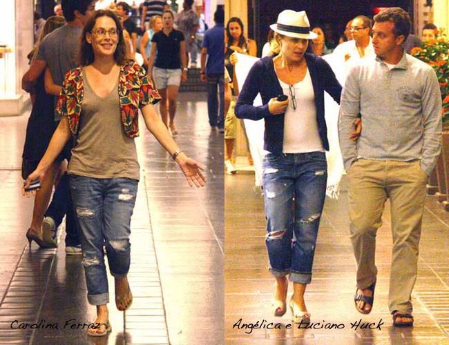 8614653136739 Angélica e Carolina Ferraz com calça boyfriend - Lalá Noleto