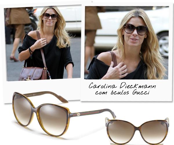 fe30c113a414c Os óculos de Carolina Dieckmann - Lalá Noleto