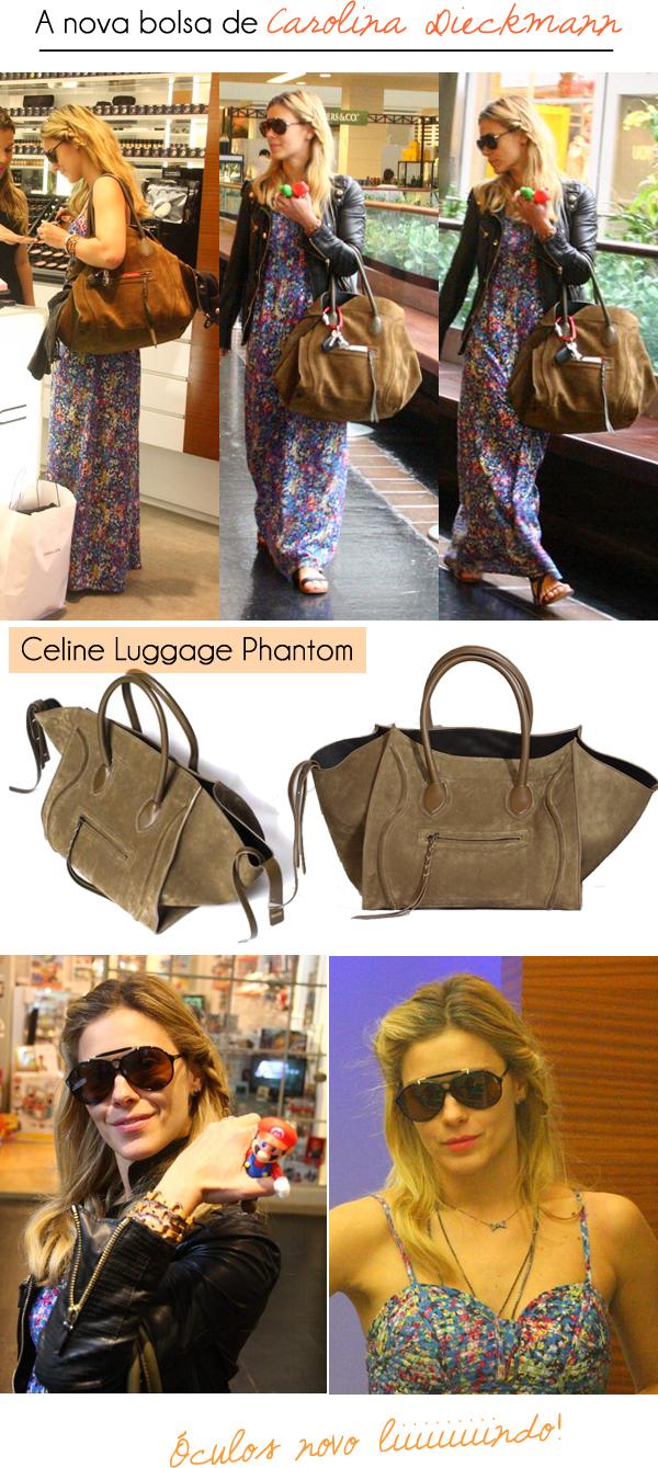 3043298e36107 A nova bolsa de Carolina Dieckmann - Lalá Noleto