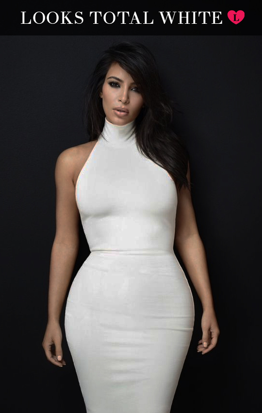 kardashian total white