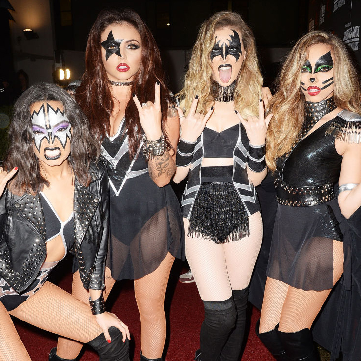 Meeninas do Little Mix de Kiss