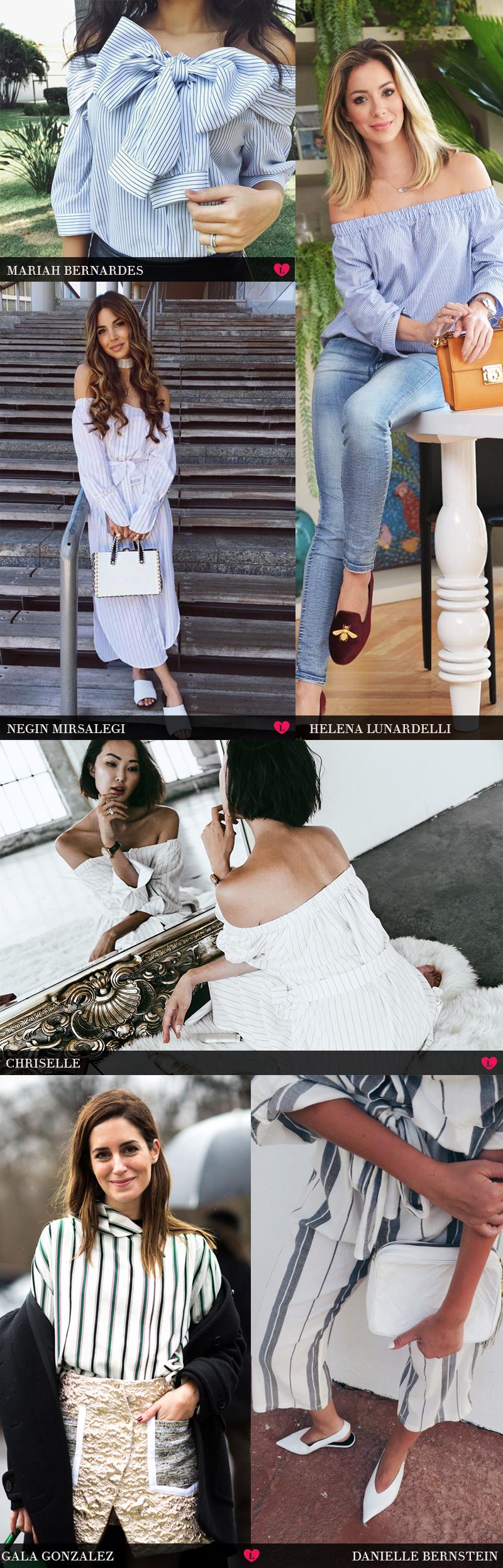 tendência camisa social