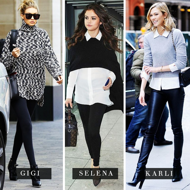 celebridades legging