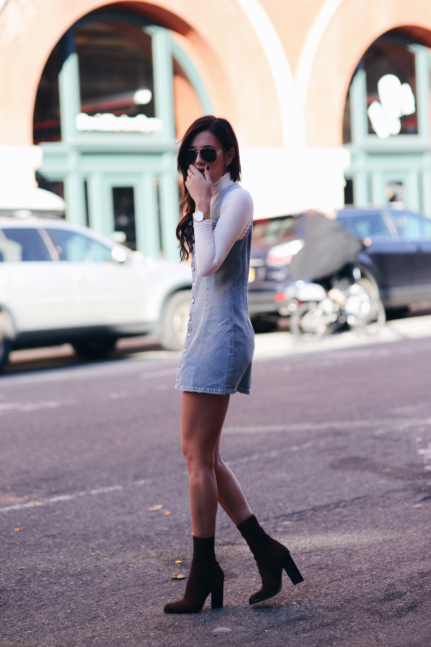 A top blogger Danielle Bernstein