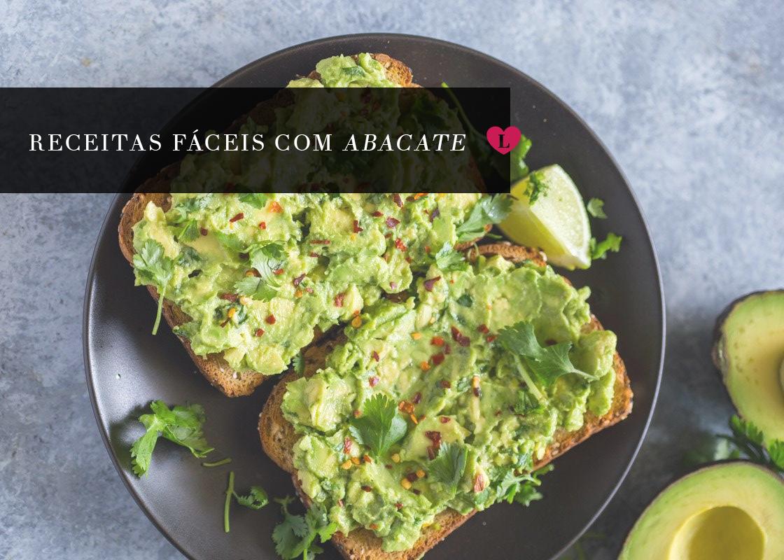 receitas fitness usando abacate