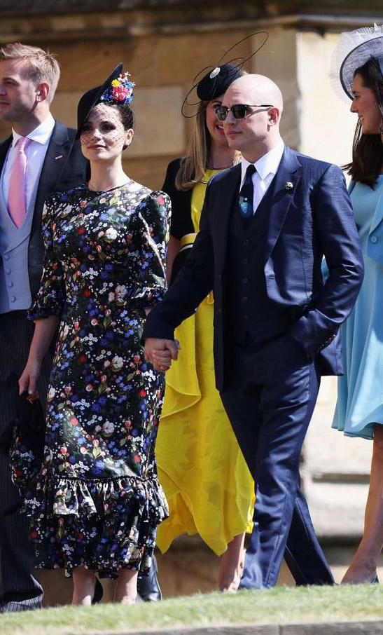 Tom Hardy e Charlotte Riley